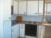 Die vollständig eingerichtete Küche