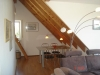 Das Wohnzimmer mit Fußbodenheizung...